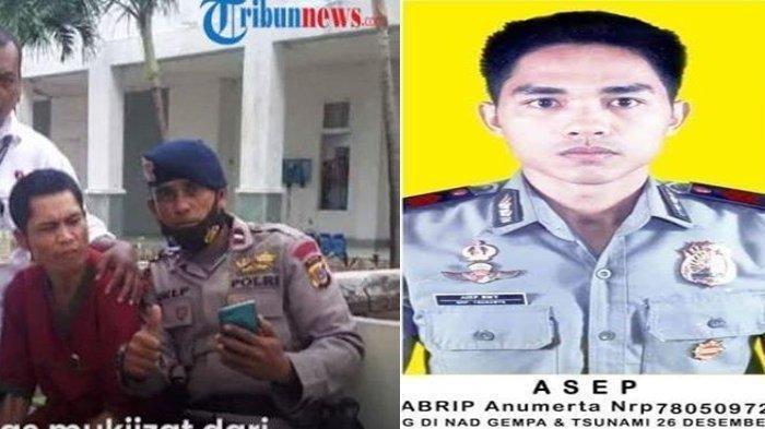 MOMEN Haru Abrip Asep Dijenguk Teman Polisi di RSJ, Tapi Tak Merespons, Keluarga Tetap Bersyukur