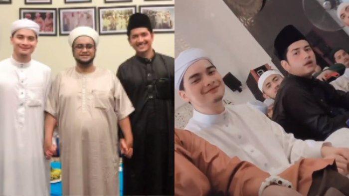 Momen kebersamaan Alvin Faiz dan Zikri Daulay