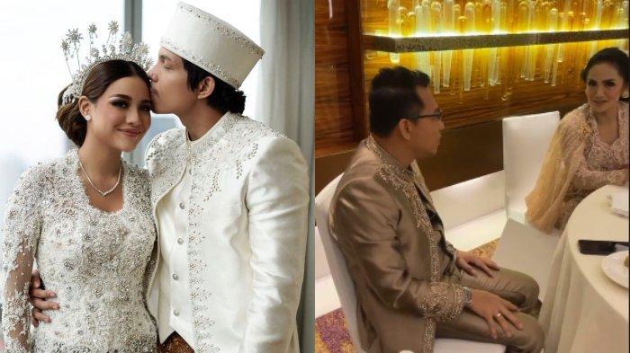 Momen kebersamaan Anang Hermansyah dan Krisdayanti di pernikahan Aurel-Atta Halilintar