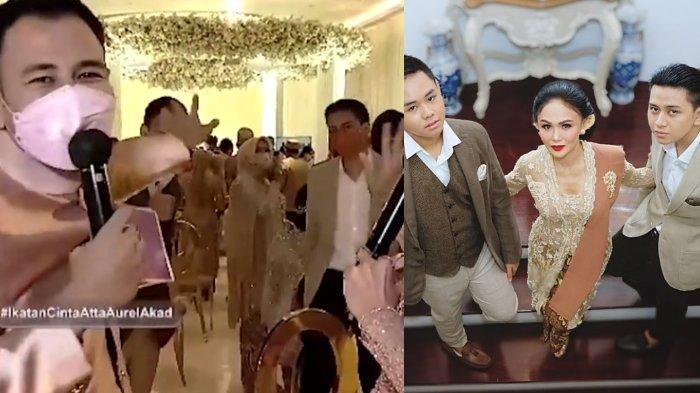 MOMEN Raffi Ahmad Bertemu Anak-anak Yuni Shara di Akad Atta-Aurel, Suami Nagita Sontak Lakukan Ini
