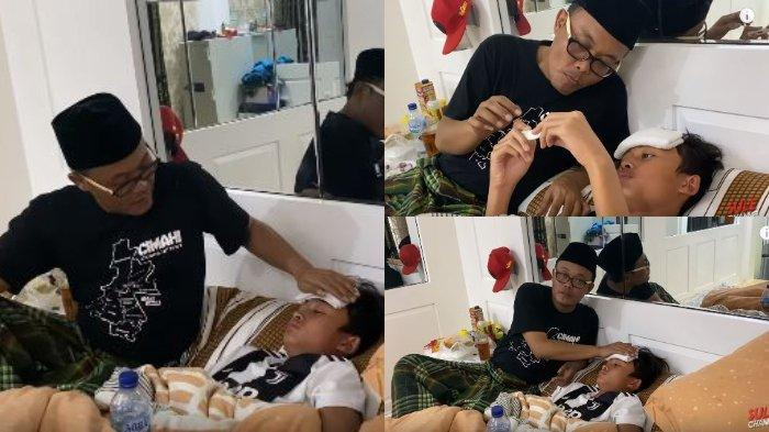 Momen Sule Rawat Anak Sakit & Curhat 'Nasib Duda Onfire', Ayah Rizky Febian Bingung Pakai Termometer