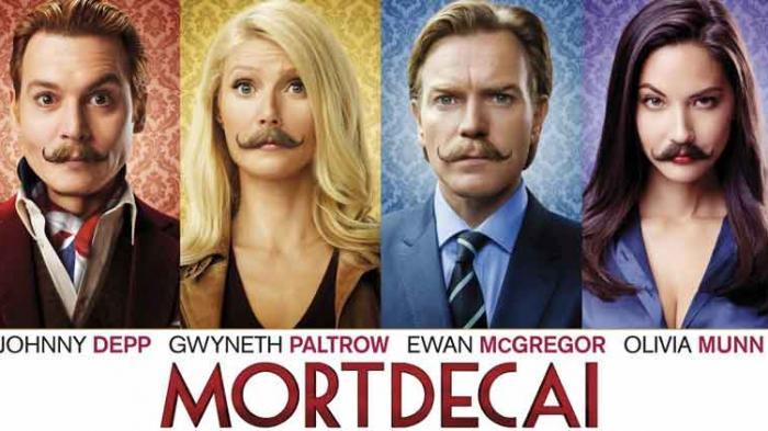 Film Mortdecai.