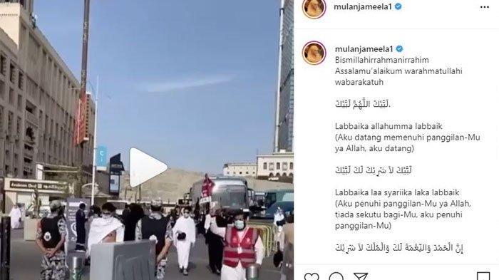 Mulan Jameela akui cemburu melihat orang-orang yang bisa menunaikan ibadah Haji di tahun ini