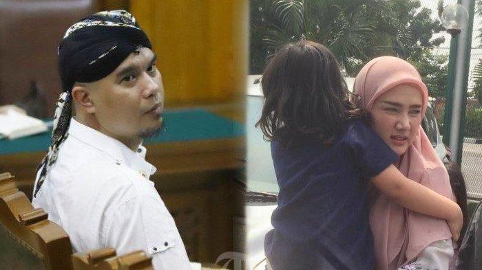 Ahmad Dhani Divonis 1 Tahun Penjara, Mulan Jameela Ajak Kedua Anaknya Jenguk Sang Suami di Rutan