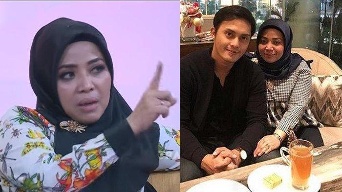 Muzdalifah merasa tersinggung terhandap pertanyaan Feni Rose yang dianggap sudutkan Fadel Islami.