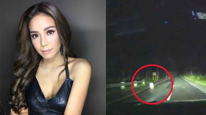 Wanita Naik Mobil Tengah Malam, Kaget Lihat Sosok Misterius di Jalan, Semua Teriak Panik dan Takut!