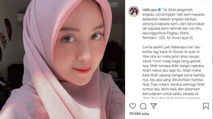 Nabilah Ayu eks JKT48 berhijab.