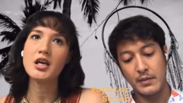 Nadine Chandrawinata dan Dimas Anggara buka-bukaan soal calon buah hati.