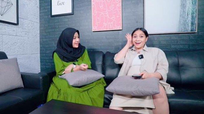 Nagita Slavina dan Aurel Hermansyah tak keberatan anaknya berjodoh.