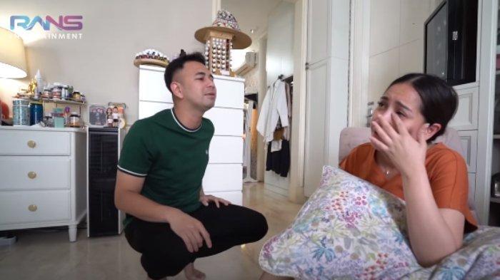 Nagita Slavina nangis saat Raffi Ahmad prediksi berat badannya