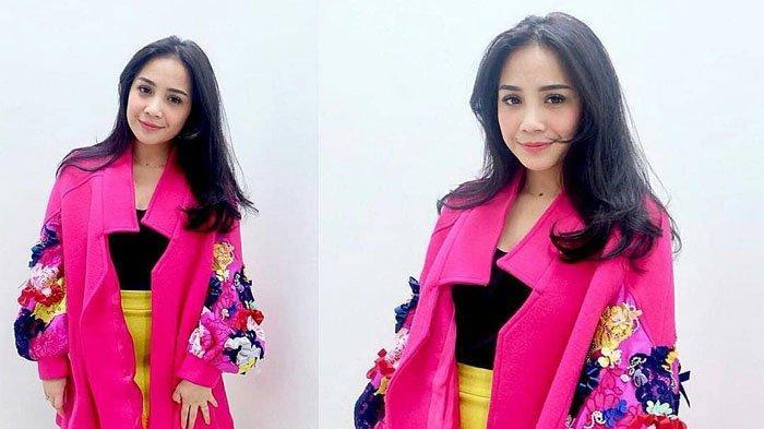 Tampak Makin Kurus dan Tinggi, Nagita Slavina Terlihat Cantik Bak Model dengan Kostum Ini