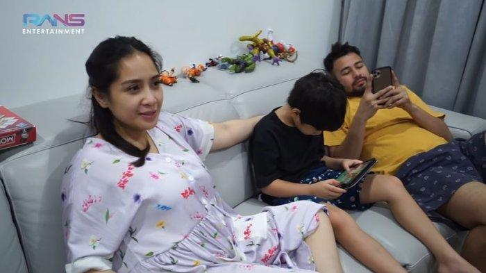 Nagita Slavina beberkan gejala saat terpapar covid-19.