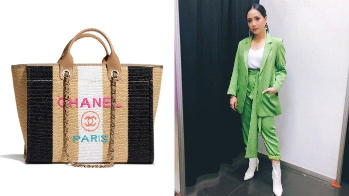 VIRAL Tas Merek Chanel Hanya untuk Tempat Hair Dryer, Nagita Slavina Benar-benar Istri Sultan Tajir