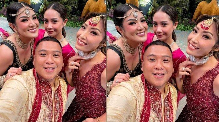 BANDINGKAN Dengan Ayu Dewi dan Artis Lain, Tampilan Nagita Slavina Paling Beda di Pesta Henna Aurel