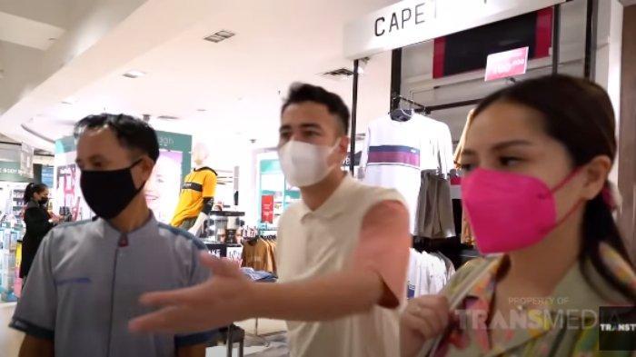 Baru Datang di Mall, Nagita Traktir Petugas Kebersihan Beli Baju Lebaran, Raffi: Ayo Pilih Apa Aja