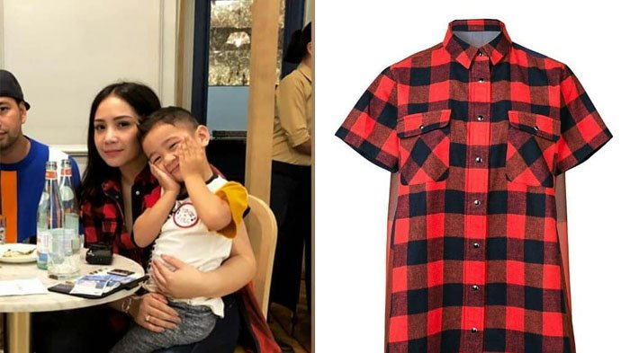 Nagita Slavina Kenakan Shirt dengan Model yang Unik dan Harganya Bikin Takjub!