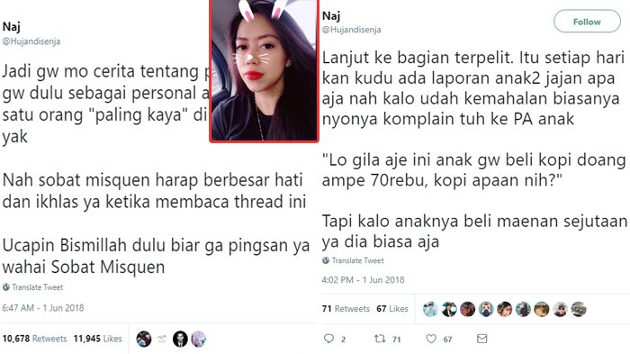 Viral Cewek Bagi Cerita Jadi Asisten Pribadi Konglomerat Indonesia, 'Bismillah Dulu Biar Ga Pingsan'