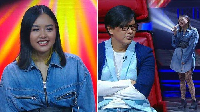 Naja Dewi dan Armand Maulana di The Voice Indonesia