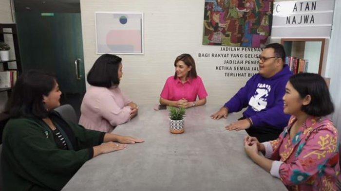 Mengaku Tak Bisa Masak, Najwa Shihab Sebut Kodrat Perempuan Cuma Tiga: 'Mens, Hamil, Menyusui'