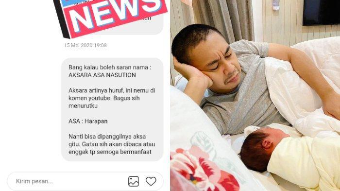 VIRAL Netizen Usul Nama Anak Raditya Dika, Berakhir Sama Persis, Suami Anissa Aziza Beri Tanggapan