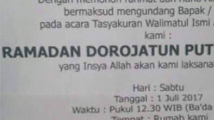 Nama Anak Unik Muncul Lagi, Netizen Bertanya 'Lahirnya di Fly Over atau Bagaimana?'
