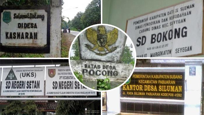 Gak Kepikiran, 10 Nama Desa di Indonesia Ini Nyata Adanya, Dusun Setan hingga Desa Kebocoran
