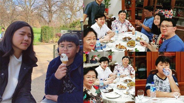 Beda Jauh dari Ahok, 2 Anak Veronica Tan Makan Menu Sederhana di Malam Imlek