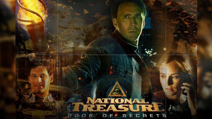 Sinopsis National Treasure Book Of Secret Pencarian Kota Emas Melalui Petunjuk Rahasia Tribunstyle Com
