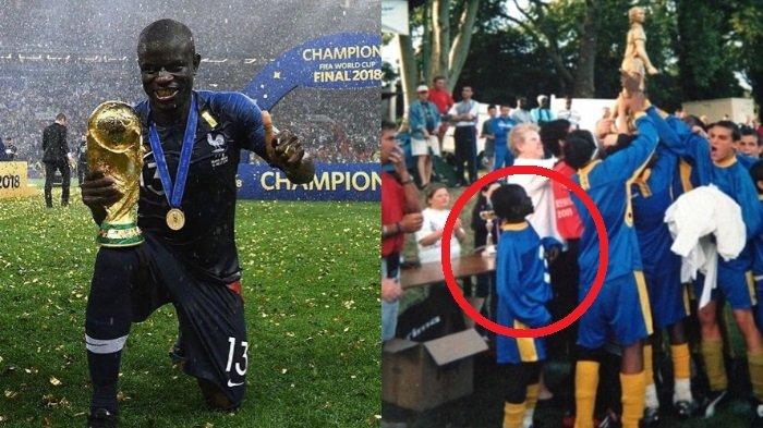 5 Sisi Unik N'Golo Kante, Pemain yang Galak di Lapangan tapi Malu-malu Mau Pegang Trofi Piala Dunia
