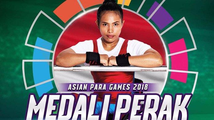 Ni Nengah Widiasih, Raih Medali di Asian Para Games 2018