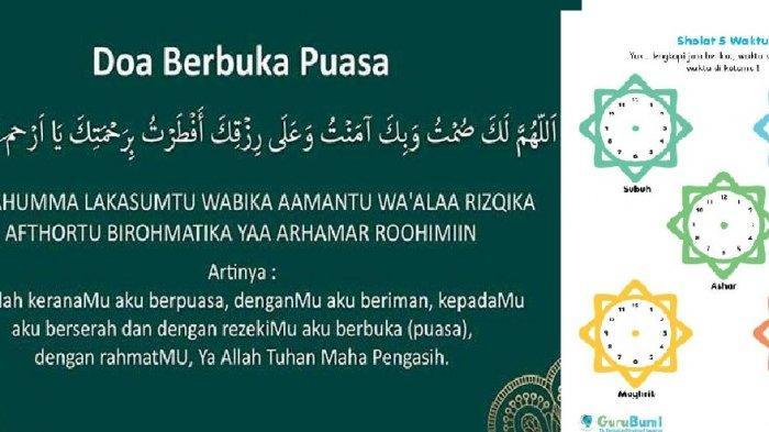 Jadwal Buka Puasa Hari Ini Kamis 9 Mei 2019 : Jakarta, Bandung, Medan, Yogyakarta, Selengkapnya!