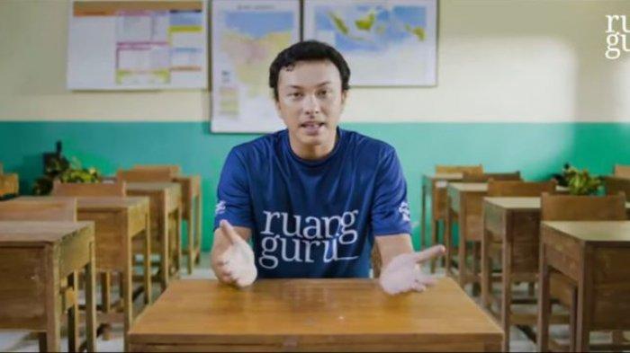 Jadi Duta Belajar Ruangguru, Nicholas Saputra Singgung Teknologi untuk Kemajuan Pendidikan Indonesia