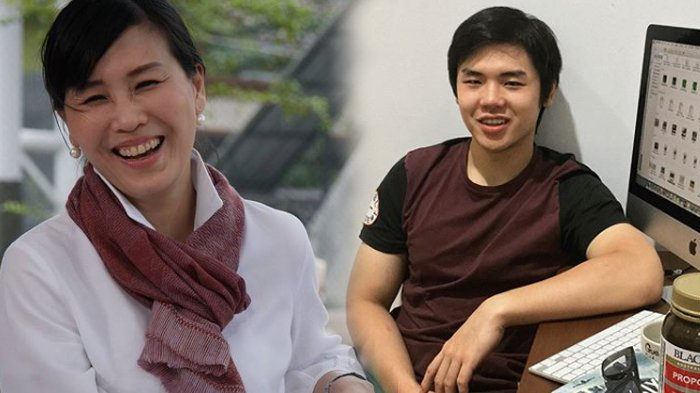 Seolah Bantah Pernyataan Ahok,  Nicholas Sean Rekam Pekerjaan Veronica Tan Saat Imlek