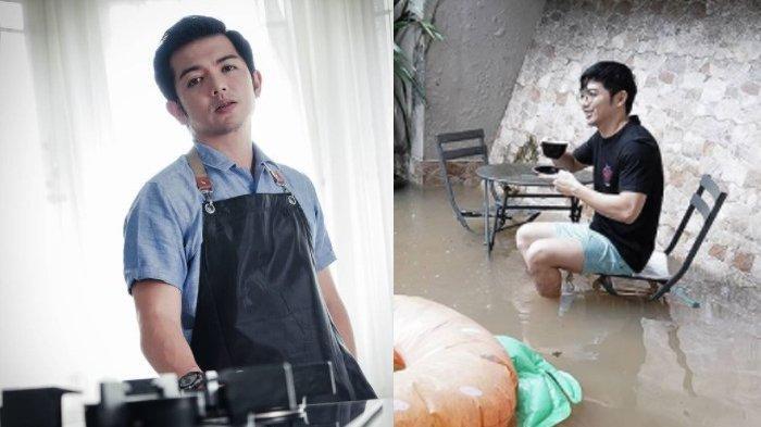 Bak Tak Punya Beban, Nicky Tirta Justru Santai Ketika Banjir Melanda Rumahnya, 'Nikmati Saja'