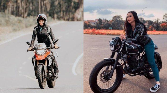 Sangar! Lihat Gaya 5 Artis Cantik Naik Motor Gede, Nikita Mirzani, Aura Kasih, hingga Selvi Kitty