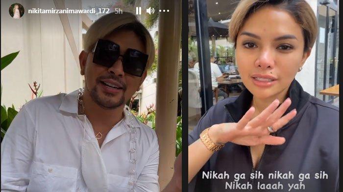 Nikita Mirzani konsultasi pernikahan dengan Caren Delano.