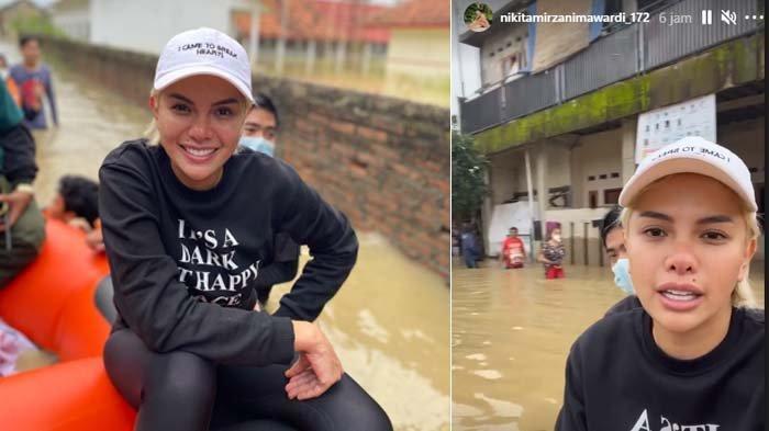 Jakarta Kebanjiran, Nikita Mirzani Turun Tangan Kirim Bantuan, Berikan Ini untuk Warga Karawang