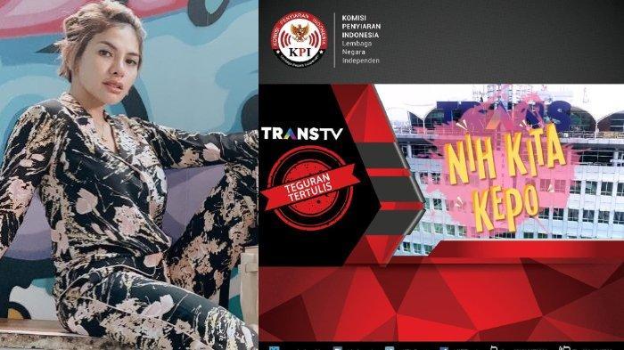 Program Nih Kita Kepo Disemprit KPI, Nikita Mirzani Protes Bandingkan Dengan Tayangan di Sinetron