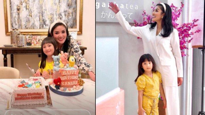 Nindy Ayunda Bahagia Rayakan Ulang Tahun Kanara, Ungkap Sang Putri Baru Habiskan Waktu dengan Askara