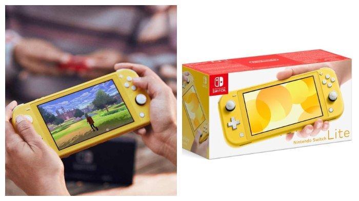 Nintendo Luncurkan Konsol Switch Terbaru, Bernama Nintendo Switch Lite, Harga Lebih Murah