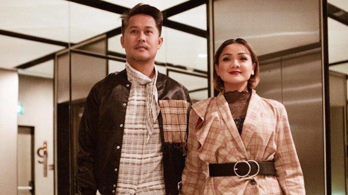 Nirina Zubir dan suami, Ernest.