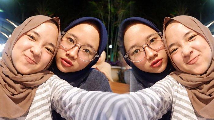 Banyak Dikira Kembar, Inilah Iin Fadillah, Kakak Kandung Nissa Sabyan, Cantiknya Sama Persis