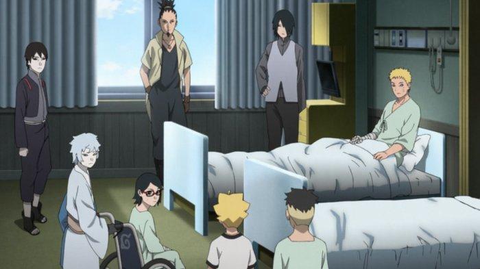 Nonton anime Boruto episode 209.