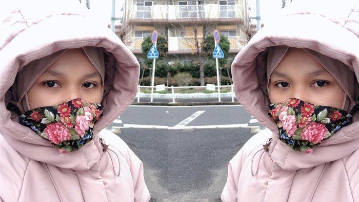 Nova Pratiwi tinggal di Jepang