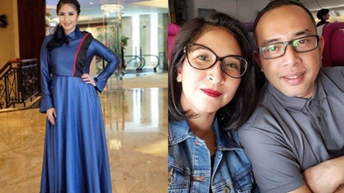 Potret Keluarga Novita Angie dan Suami saat Rayakan Idul Fitri, Adem dan Harmonis!