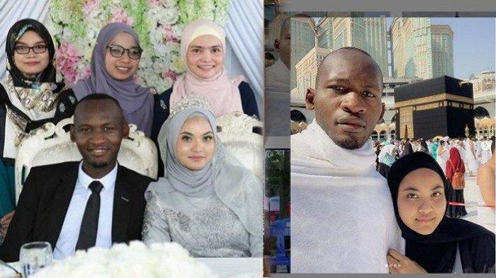 Kaleidoskop 2019, Viral Asmara Gadis Indonesia dengan Pria Afrika, Diajak Umroh Malah Berujung Nikah