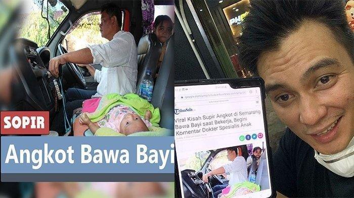 VIRAL Perjuangan Baim Wong Temukan Sopir Bawa Bayi Saat Bekerja, Rela Pulang Pergi Jakarta-Semarang