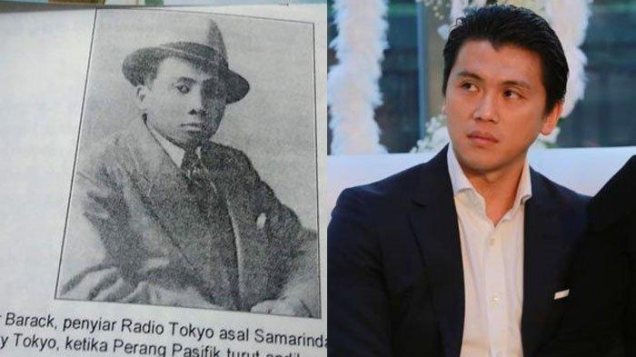 Omar Barack - Sosok Kakek Reino Barack, Tokoh Asal Samarinda, Penyiar Radio Jepang, Usir Penjajah