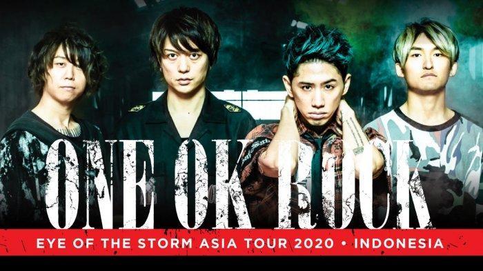 One Ok Rock Gelar Konser di Jakarta Mei 2020, Catat Tanggal Penjualan Tiket dan Harganya