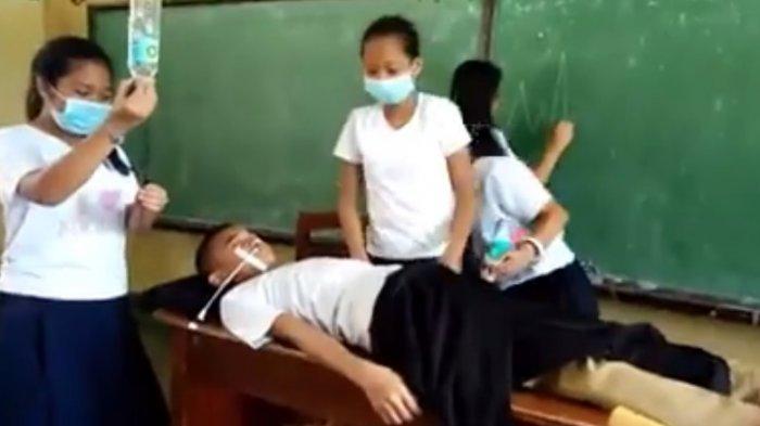 Gokil! Anak Sekolah Bikin Video Parodi Operasi Pasien, Adegan Terakhir Bikin Ngakak
